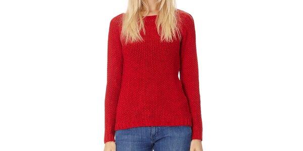 Dámský červený pletený svetr Northern rebel