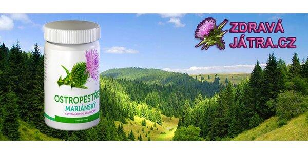 Ostropestřec - detoxikace a zdravá játra!