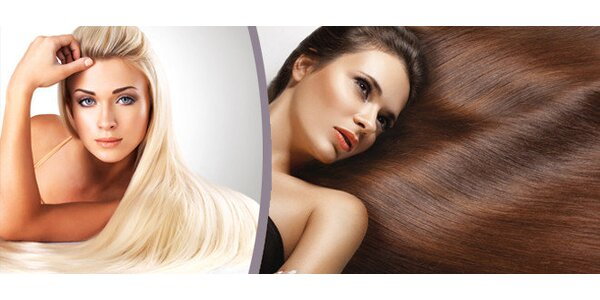 Ošetření vlasovým keratinem