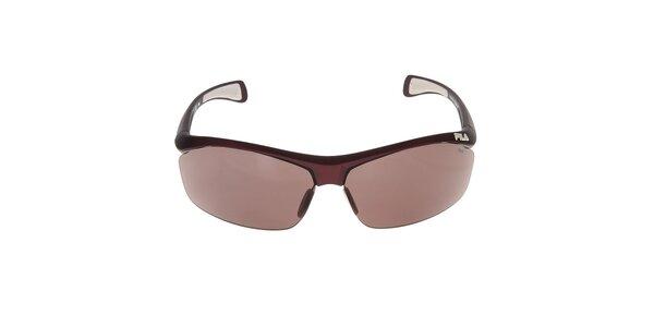 Sluneční brýle s hnědými skly Fila