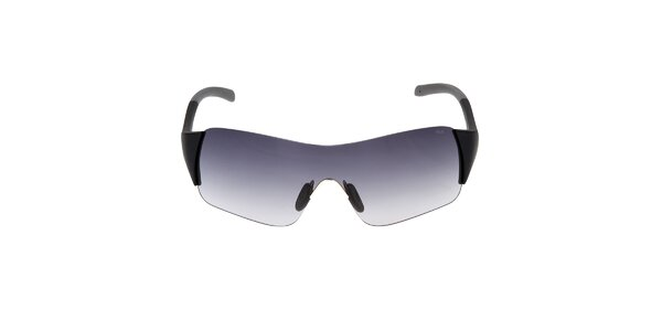 Černé sluneční brýle s gradientním efektem Fila