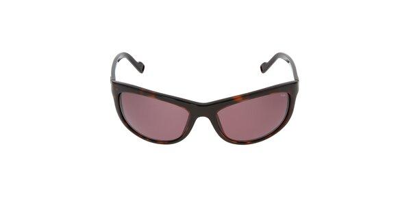 Žíhané sluneční brýle Fila
