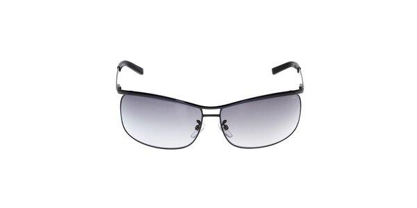 Pánské černé kovové sluneční brýle Fila