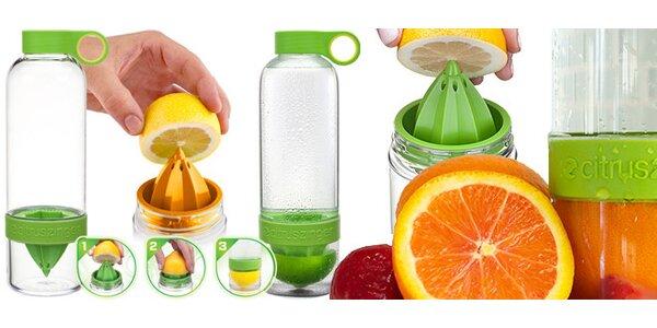 Láhev CitrusZinger na výrobu osvěžujících nápojů