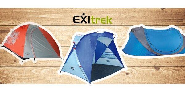 Praktické stany EXItrek na festival i pláž