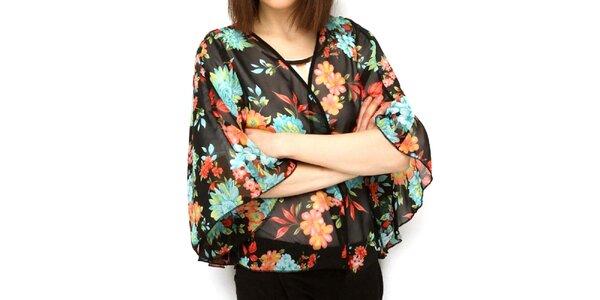 Dámské květinové kimono Deck