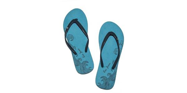 Dámské modré pěnové žabky Exe Jeans