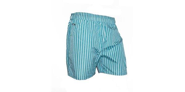 Pánské plavky s bílými proužky Exe Jeans