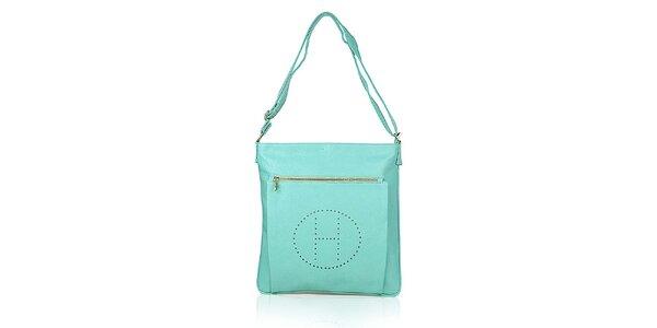 Dámská mátově zelená kabelka přes rameno Verde Porte