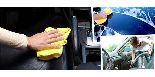 Mobilní čištění interiéru osobních vozů všech značek u Vás