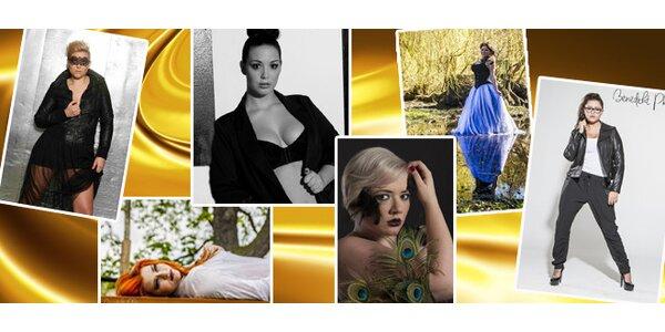 Profi focení včetně fashion, hair stylingu a make-upu v ateliéru či exteriéru …