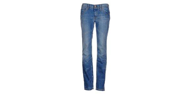 Bleděmodré džíny Tommy Hilfiger