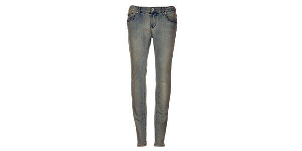 Bleděmodré úzké džíny Tommy Hilfiger