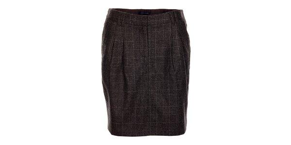 Šedá dámská sukně Tommy Hilfiger