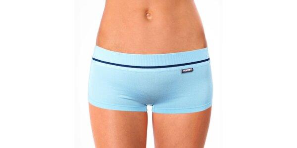 Dámské světle modré nohavičkové kalhotky Mosmann