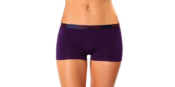 Dámské fialové nohavičkové kalhotky Mosmann