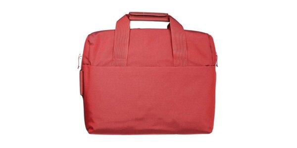 Červená pracovní taška Mandarina Duck