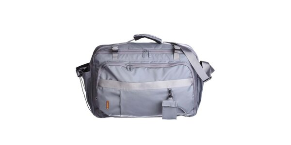 Šedá cestovní taška přes rameno Mandarina Duck
