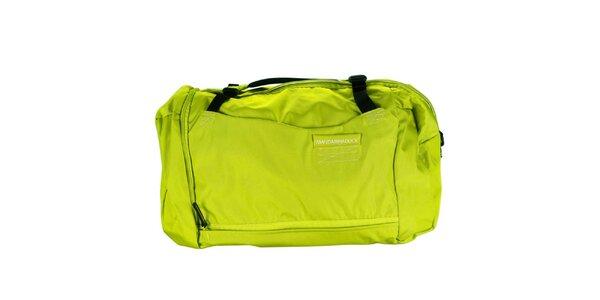 Zelená sportovní taška Mandarina Duck