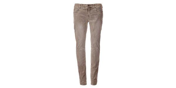 Šedé úzké kalhoty Tommy Hilfiger