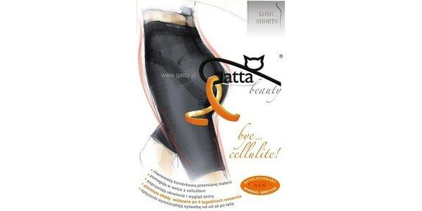 Gatta Bye Cellulite Longshorts béžové