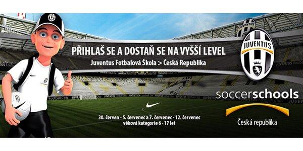 Týdenní fotbalový kemp Juventus Turín v Praze!