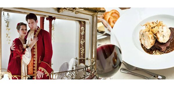 Večeře s Mozartem - 3chodové menu a hudební zážitek!