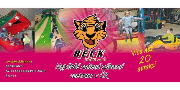 Celodenní vstup do dětského zábavního centra Beckiland