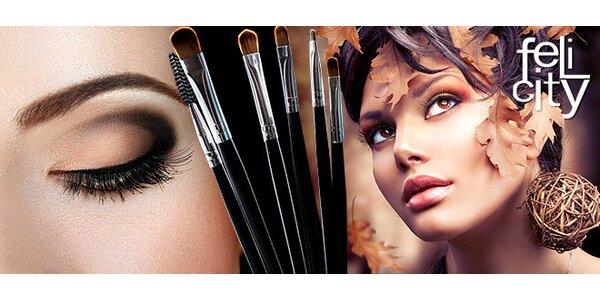 2,5hodinový kurz líčení s profesionální vizážistkou