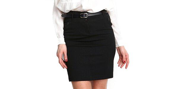 Dámská černá pouzdrová sukně Fusion