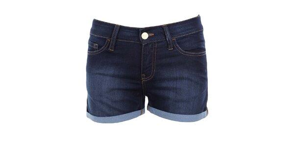 Dámské tmavě modré džínové šortky MET