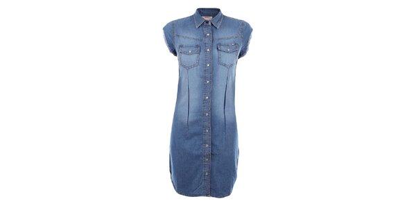 Dámské džínové šaty Met