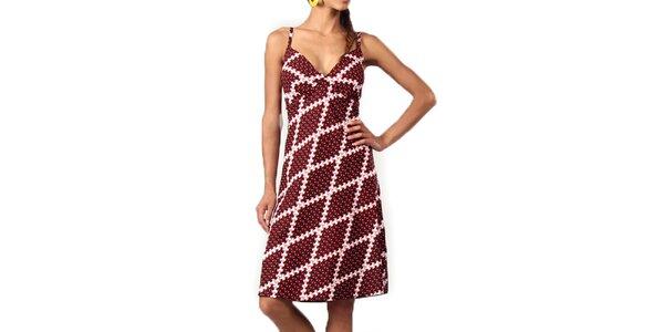 Dámské šaty s originálním potiskem Aller Simplement