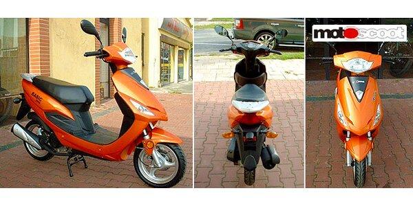 Městský skútr Motoscoot Basic 50