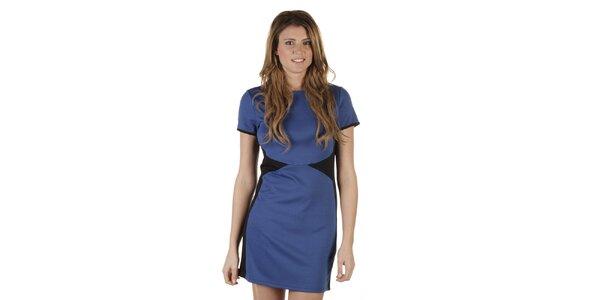 Dámské modročerné šaty Ada Gatti
