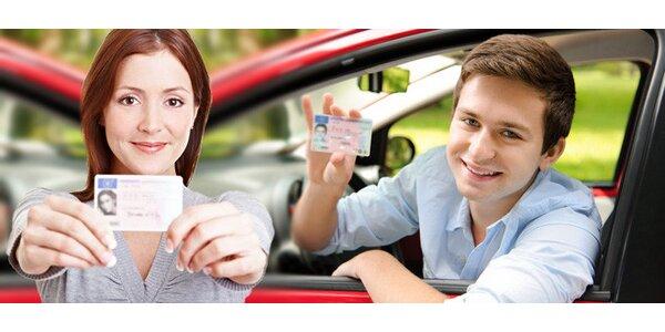 Řidičský průkaz skupiny B - rezervace kurzu v autoškole