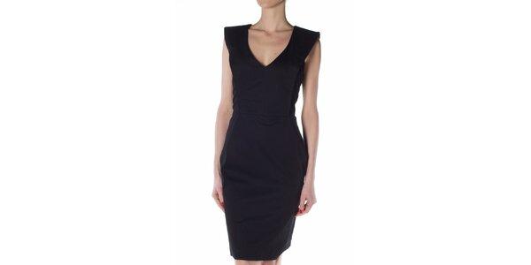 Dámské černé pouzdrové šaty Gene