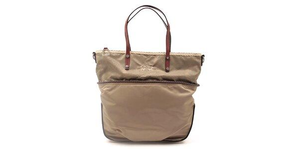 Dámská kabelka s ozdobným lemem La Martina