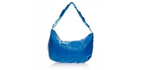 Modrá jednoduchá kabelka Ferré