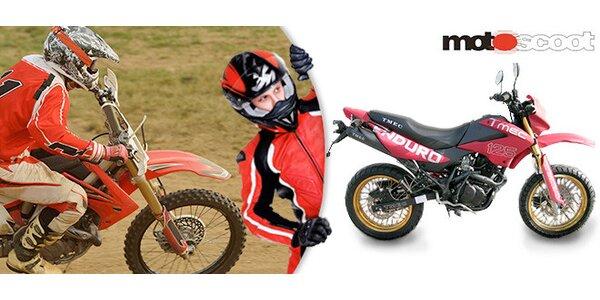 Supermoto motorka TMEC 125