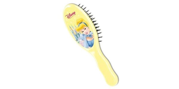 Disney Princezny Popelka kartáč na vlasy speciálně v dětské velikosti