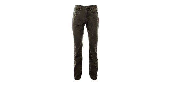 Pánské khaki kalhoty Big Star