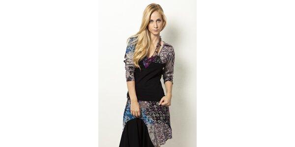 Tričko s barevným vzorem Mahal