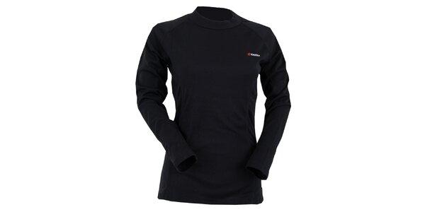 Dámské černé termo tričko Goritz
