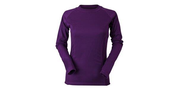 Dámské fialové termo tričko Goritz