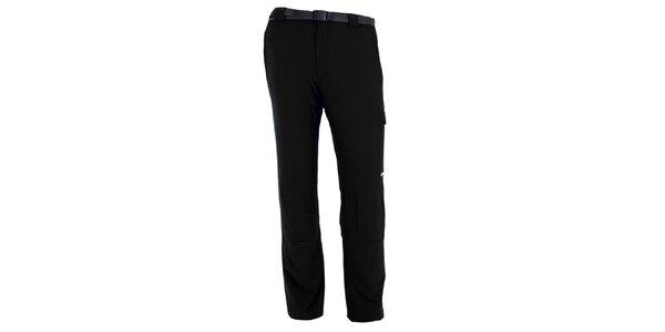 Pánské černé vodoodpudivé kalhoty Goritz
