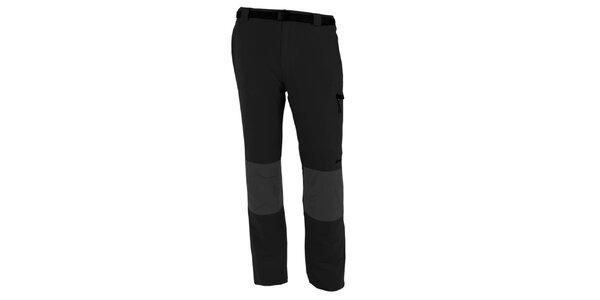 Pánské šedo-černé vodoodpudivé kalhoty Goritz