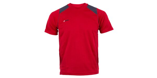 Pánské červené technické tričko Goritz