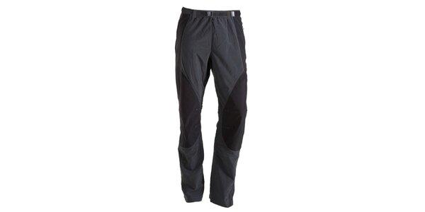 Pánské šedo-černé kalhoty Goritz