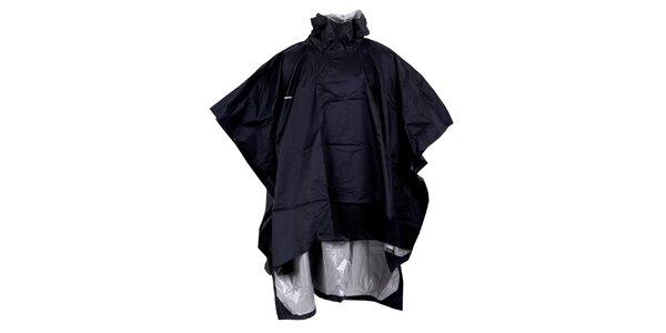 Pánská černá pláštěnka - pončo Goritz